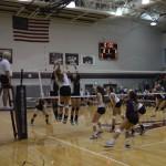 SHA AHS Volleyball Game